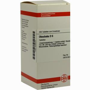Abbildung von Okoubaka D6 Tabletten 200 Stück