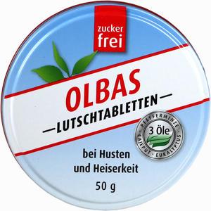 Abbildung von Olbas Lutschtabletten zuckerfrei  50 g