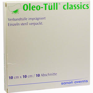 Abbildung von Oleo- Tüll Classics 10x10cm Wundgaze 10 Stück