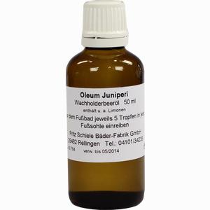 Abbildung von Oleum Juniperi Hautvorweicher Öl 50 ml