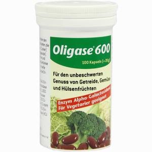 Abbildung von Oligase 600 Kapseln 100 Stück