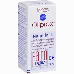 Abbildung von Oliprox Nagellack bei Pilzbefall Lösung 12 ml