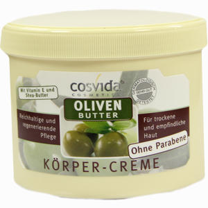 Abbildung von Oliven Butter Körpercreme Cosvida  500 ml