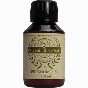 Abbildung von Olivenblattextrakt Premium 90% 100 ml
