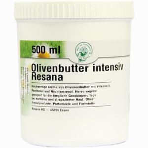 Abbildung von Olivenbutter Intensiv Resana Salbe 500 ml