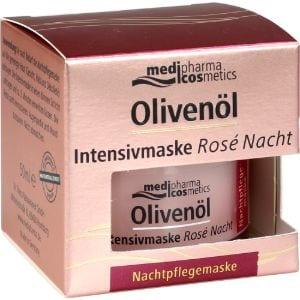 Abbildung von Olivenöl Intensivmaske Rose Nacht Creme 50 ml