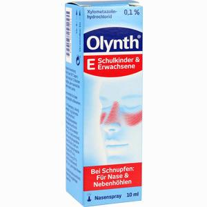 Abbildung von Olynth 0.1% Nasendosierspray 10 ml