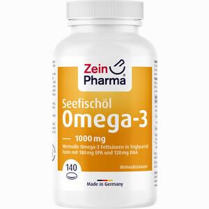 Abbildung von Omega 3 1000 Mg - Seefischöl Softgelkapseln Hochdosiert  140 Stück