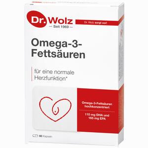 Abbildung von Omega- 3- Fettsäuren 500mg/60% Kapseln 60 Stück