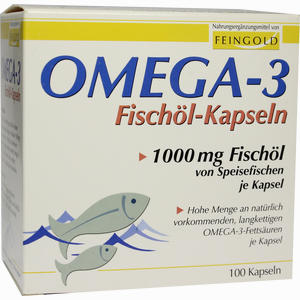 Abbildung von Omega 3 Fischöl Kapseln  100 Stück