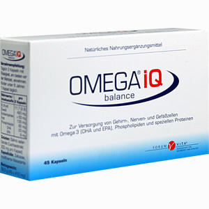 Abbildung von Omega Iq Kapseln 45 Stück