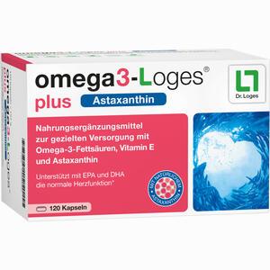 Abbildung von Omega3- Loges Plus Kapseln 120 Stück