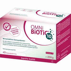 Abbildung von Omni- Biotic 10 Pulver 40 x 5 g