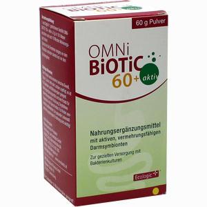 Abbildung von Omni Biotic 60+ Aktiv Pulver  60 g