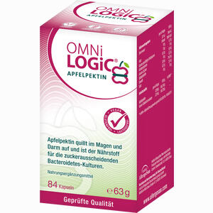 Abbildung von Omni Logic Apfelpektin Kapseln 84 Stück