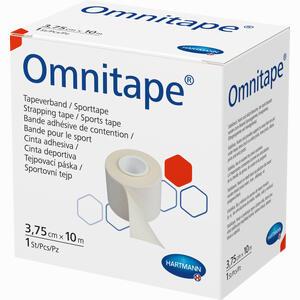 Abbildung von Omnitape 3,75cm X 10m Pflaster 1 Stück