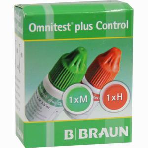 Abbildung von Omnitest Plus Control Kontrolllösung  2 x 3 ml
