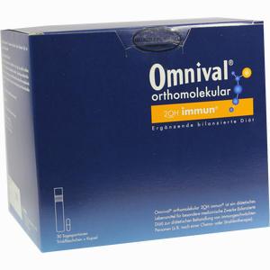 Abbildung von Omnival Orthomolekular 2oh Immun 30tp Trinkampullen  30 Stück