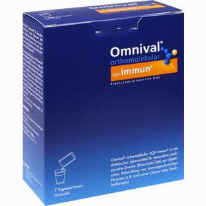 Abbildung von Omnival Orthomolekular 2oh Immun Granulat 7 Stück