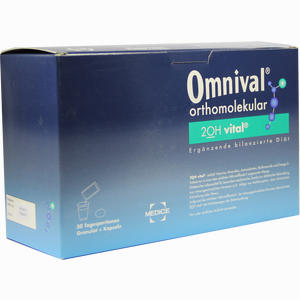 Abbildung von Omnival Orthomolekular 2oh Vital 30 Tp Gran+kapseln Kombipackung 1 Packung