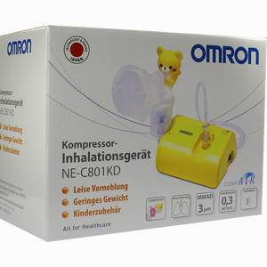 Abbildung von Omron C 801 Kd Compair Inhalationsgerät für Kinder 1 Stück