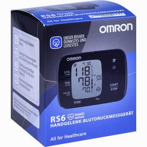 Abbildung von Omron Rs6 Handgelenk Blutdruckmessgerät 1 Stück