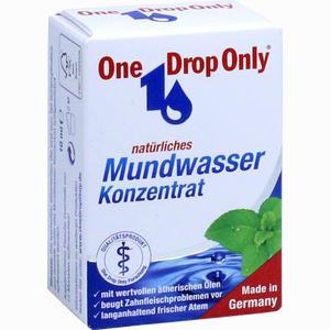 Abbildung von One Drop Only Natürliches Mundwasser Konzentrat  10 ml