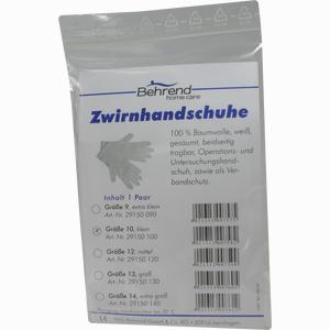 Abbildung von Op- Handschuhe Baumwolle Gr. 11  2 Stück