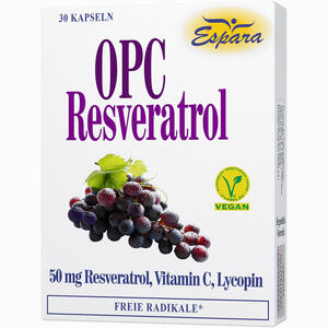 Abbildung von Opc Resveratrol Kapseln 30 Stück