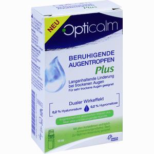 Abbildung von Opticalm Beruhigende Augentropfen Plus  10 ml