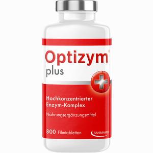 Abbildung von Optizym Hochkonzentrierter Enzym- Komplex Filmtabletten 800 Stück
