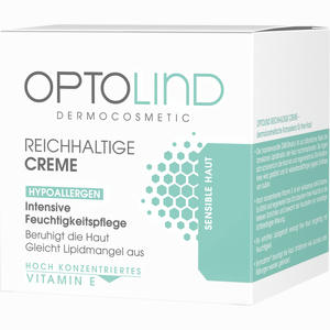 Abbildung von Optolind Empfindliche Haut reichhaltige Creme  50 ml
