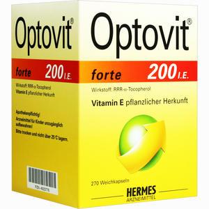 Abbildung von Optovit Forte Kapseln 270 Stück