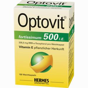 Abbildung von Optovit Fortissimum 500 Kapseln 100 Stück