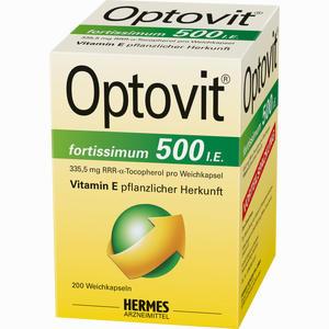 Abbildung von Optovit Fortissimum 500 Kapseln 200 Stück