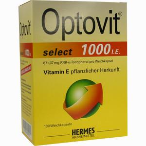 Abbildung von Optovit Select 1000 I.e. Kapseln 100 Stück