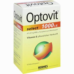 Abbildung von Optovit Select 1000 I.e. Kapseln 50 Stück