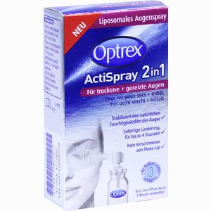 Abbildung von Optrex Actispray 2in1 für Trockene & Gereizte Augen  10 ml
