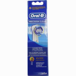 Abbildung von Oral- B Aufsteckbürsten Precision Clean 2er Zahnbürste 2 Stück