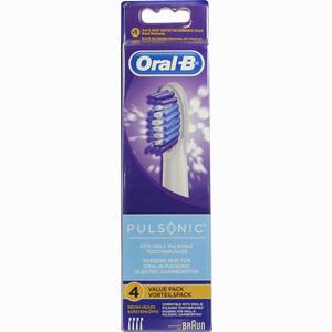 Abbildung von Oral- B Aufsteckbürsten Pulsonic Zahnbürste 4 Stück