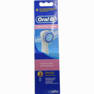 Abbildung von Oral- B Aufsteckbürsten Sensitive 2er Zahnbürste 2 Stück