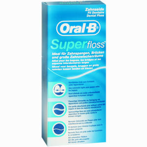 Abbildung von Oral- B Zahnseide Superfloss 1 Stück