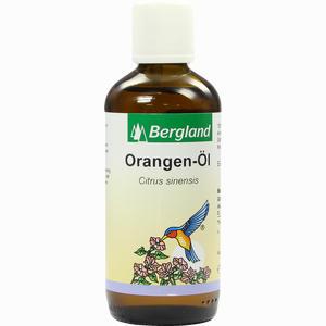 Abbildung von Orangen Suess Bergland  100 ml
