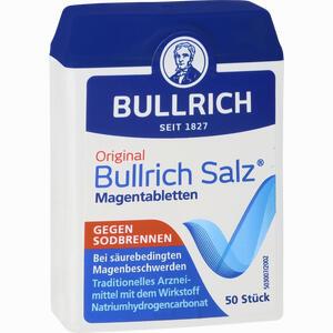 Abbildung von Original Bullrich Salz Magentabletten  50 Stück