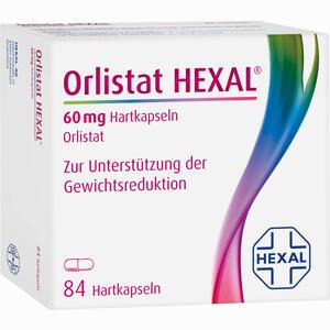Abbildung von Orlistat Hexal 60mg Hartkapseln  84 Stück