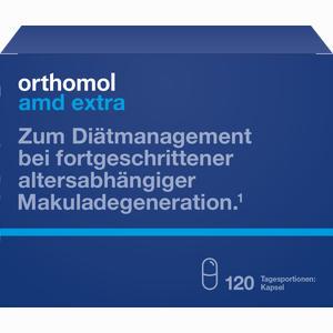 Abbildung von Orthomol Amd Extra Kapseln  120 Stück