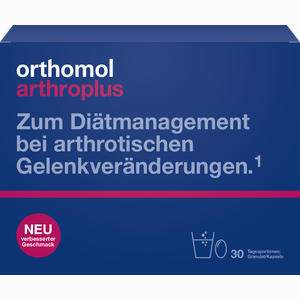 Abbildung von Orthomol Arthroplus Granulat + Kapseln Kombipackung  30 Stück