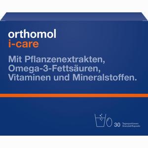Abbildung von Orthomol I- Care Kombipackung  30 Stück