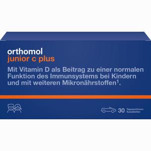 Abbildung von Orthomol Junior C Plus Mandarine/orange Kautabletten 30 Stück