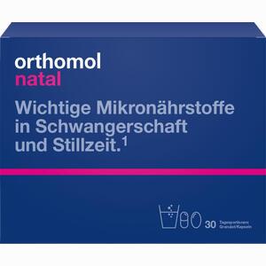 Abbildung von Orthomol Natal Granulat/kapseln 30 Beutel Kombipackung 1 Stück